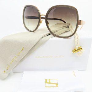 Linda Farrow Luxe LFL310/5 Mocha & Rose Gold
